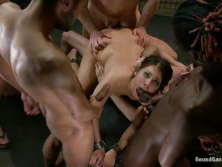 Групповой порно массаж